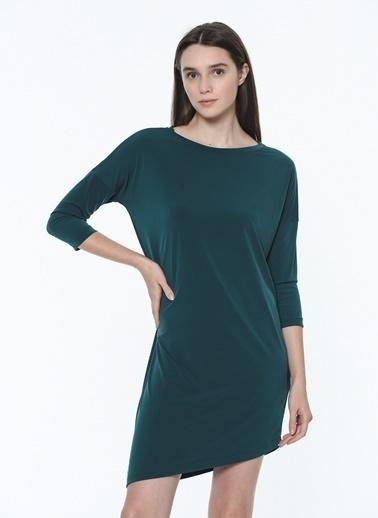 Vero Moda Vero Moda 519972919 K Normal Kalıp Kadın Elbise Yeşil